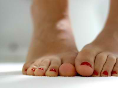 Black foot fetish